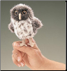 Mini Spotted Owl Finger Puppet by Folkmanis