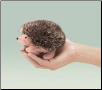 Mini Hedgehog Finger Puppet by Folkmanis