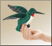 Mini Hummingbird Finger Puppet by Folkmanis