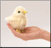 "Mini Chick Finger Puppet 4"" by Folkmanis"