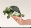 Mini Turtle Finger Puppet by Folkmanis