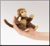 Mini Monkey Finger Puppet by Folkmanis