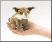 "Mini Bobcat Finger Puppet 4.5"" by Folkmanis"