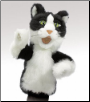 "Tom Cat Hand Puppet 20"" by Folkmanis"
