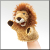 "Little Lion Puppet 7"" by Folkmanis"