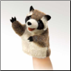 "Little Raccoon Puppet 7"" by Folkmanis"
