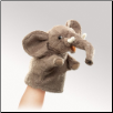 "Little Elephant Puppet 7"" by Folkmanis"