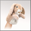 "Little Lop Rabbit Puppet 7"" by Folkmanis"