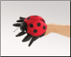 "Ladybug (new style) Hand Puppet 5"" by Folkmanis"