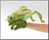 "Grasshopper Hand Puppet 12"" by Folkmanis"