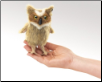 Mini Great Horned Owl Finger Puppet by Folkmanis