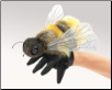 "Honey Bee Hand Puppet 7"" by Folkmanis"