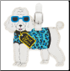 Poodle Luggage Tag by LittleGifts