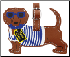 Pet-Themed Luggage Tags