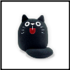 "Dicke Katze Plush Medium Cat 5"" – Nero Black Cat"