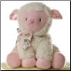 "Jesus Loves Me Girl Lamb 9"" by Aurora"