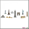 Bulk Bags: Around the World 48 pieces by Safari Ltd