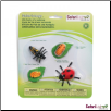 Safariology Science:  Life Cycle of a Ladybug Set by Safari Ltd