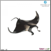 "Monterey Bay Aquarium:  Manta Ray Figure 7.5"" by Safari Ltd"