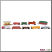 Bulk Bags: Trains 48 pieces by Safari Ltd