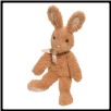 "Dew Drop Tan Bunny Large 18"" by Douglas"