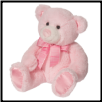 "Satrdust Small Baby Pink Bear 8"" by Douglas"