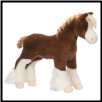 "MacClay Clydesdale Horse 15"" by Douglas"