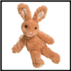 "Dew Drop Tan Bunny Small 13"" by Douglas"