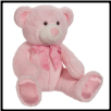 "Satrdust Large Baby Pink Bear 11"" by Douglas"