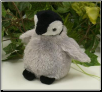 "Bebe Baby Gray Penguin 5"" by Wishpets"