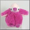 "Bebe Baby Bright Pink Penguin 5"" by Wishpets"