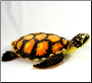 "Large Gold Sea Turtle 17"" by Wishpets"