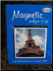 Eiffel Tower Deluxe Single Magnetic Page Clip Bookmark by Re-marks