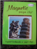 Leaning Tower of Pisa Deluxe Single Magnetic Page Clip Bookmark by Re-marks
