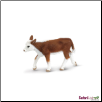 "Safari Farm:  Hereford Calf 3.5"" by Safari Ltd"