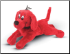 "Clifford Big Red Dog Lying Down Small Cuddle Pal 11"" by Douglas"