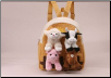 "Backpack with Farm Animals 11"" by Unipak Designs"