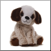 "Mushmellows Brown Dog Seated 8"" by Gund"