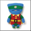 "Ugly DC Comics - DC Comics Robin-Wedgehead 11"" Uglydoll by Pretty Ugly"
