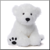"Fresco 10"" White Polar Bear by Gund"