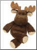 "Marshmallow Zoo Junior Moose 9"" by Mary Meyer"