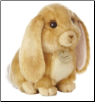 "Tan Lop-Earred Bunny Rabbit Medium 11"" by Miyoni"