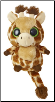 "Topsee Giraffe YooHoo Friend with Sound 5"" by Aurora"