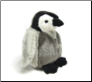 "Plumpee Baby Grey Penguin 9"" by Unipak"