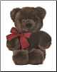"Chocolate Cuddle Bear Small 11"" by Aurora"