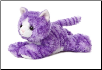 "Molly Purple Kitty Cat Flopsie 8"" by Aurora"