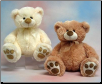 "Angelia Sitting Pawee Bear 11"" by Wishpets"