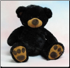 "Benjamin Sitting Pawee Bear 11"" by Wishpets"