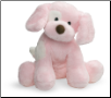 "Spunky the Barking Dog Small Pink 8"" by Gund"
