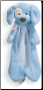 "Spunky the Dog Huggy Buddy - Blue 16"" by Gund"